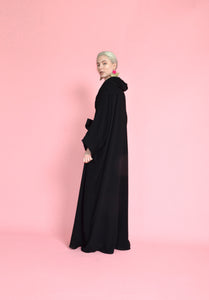 Oversized Soft Net Abaya Dubai