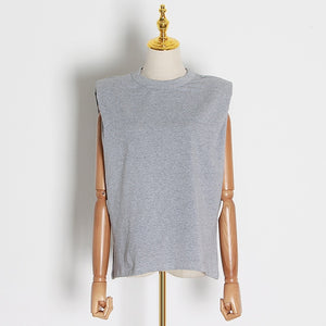 Padded Shoulder Muscle T-Shirt