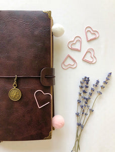 Dark Coffee Brown Cover Journal