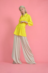 Flowing Wide leg Blush Pants
