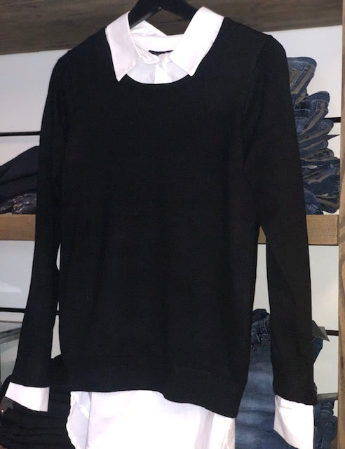 Fri o-neck blouse fra Ofelia