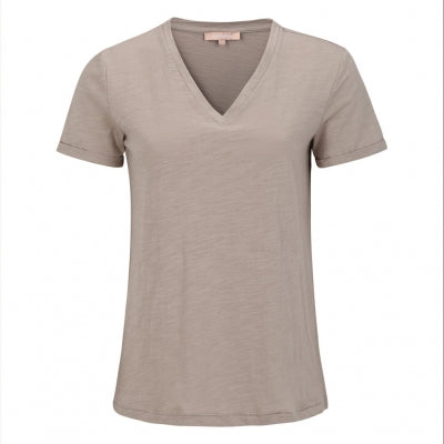 Lily V-neck T-SHIRT fra Soft Rebels