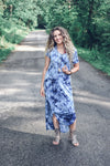 One Cloudy Day Maxi, Navy