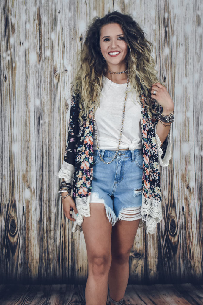 Daydreamer Distressed Shorts