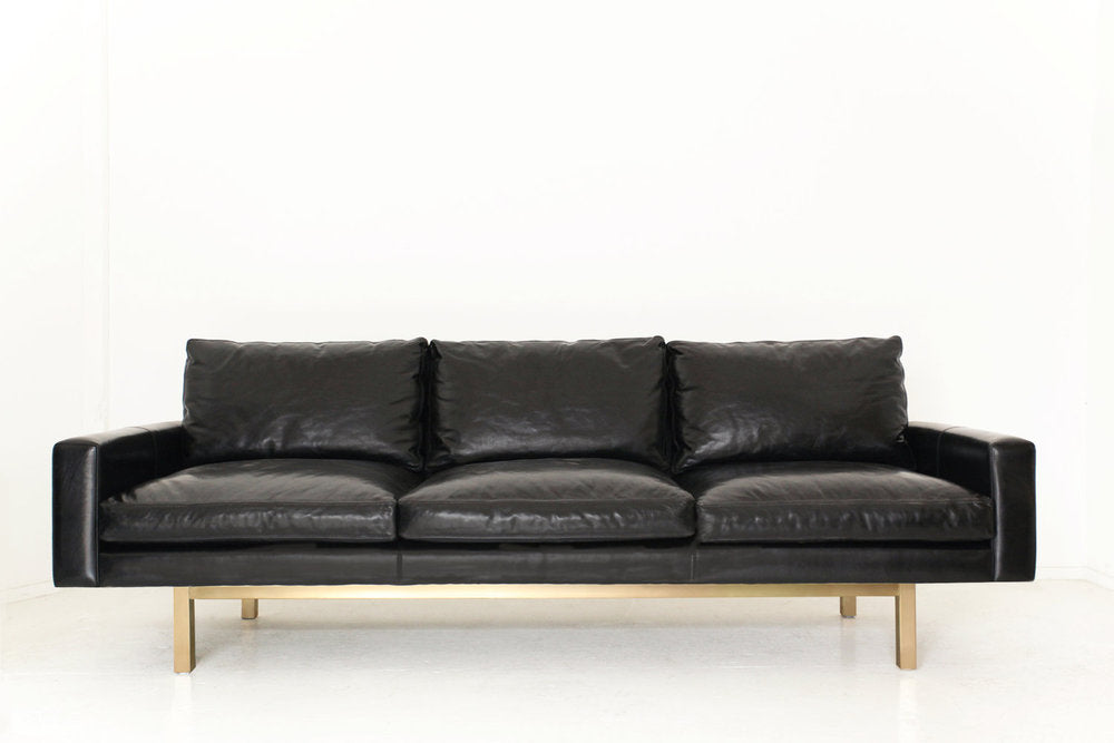 Standard Sofa with Metal Base