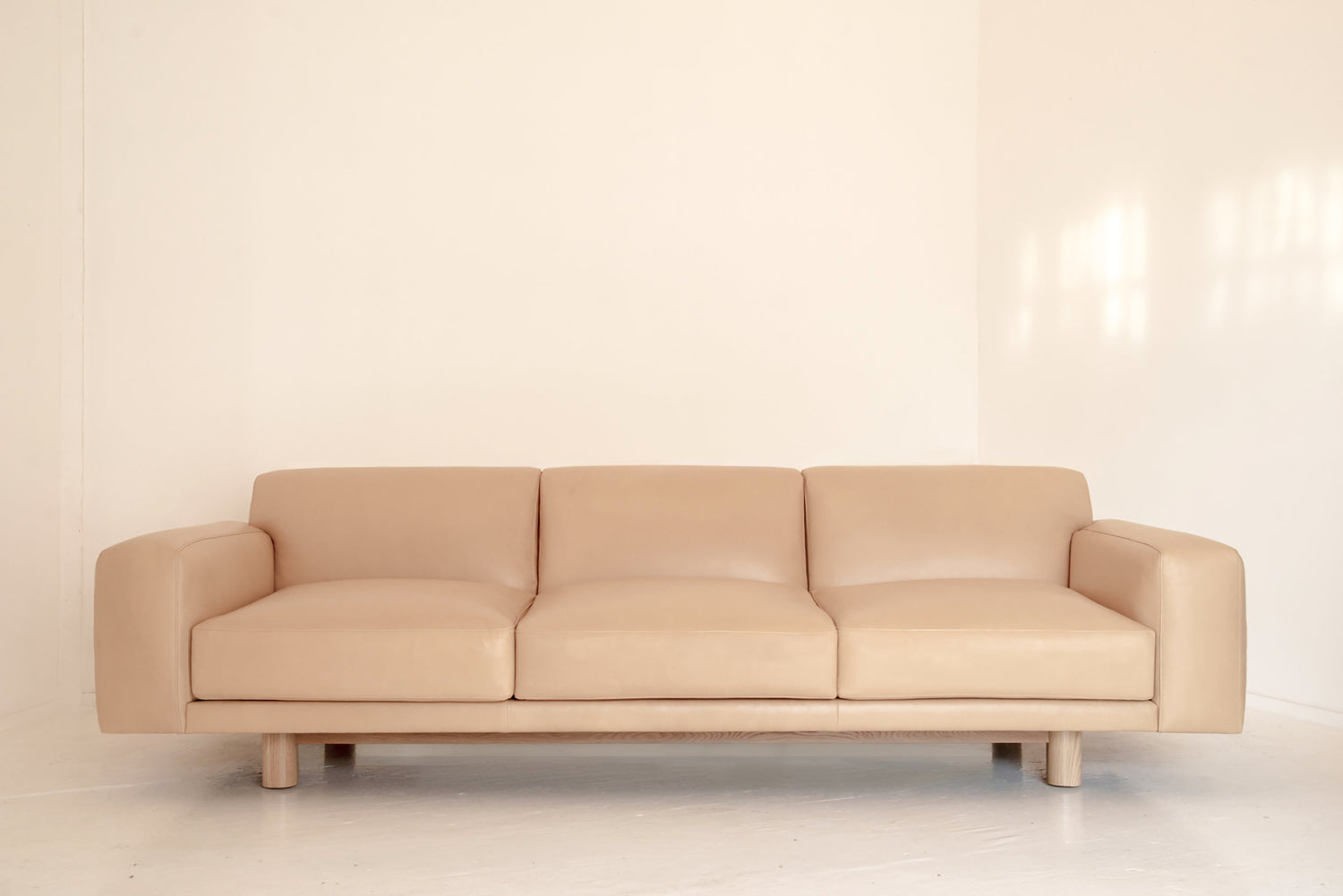 Flora Sofa with Metal Base