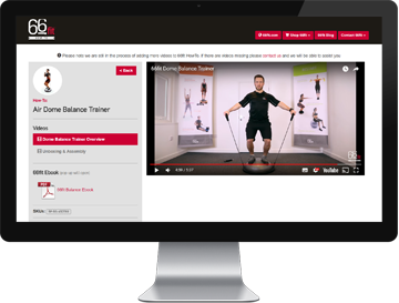 Product instructions, ebooks and exercise videos