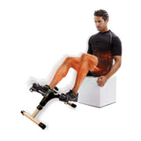 66fit Folding Pedal Exerciser with Digital Display