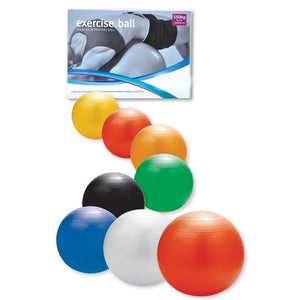 Anti-burst Exercise Ball With Foot Pump 45cm - 90cm