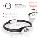 66fit Pilates Double Handle Ring
