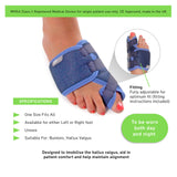 66fit Elite Hallux Valgus Padded Support - Left