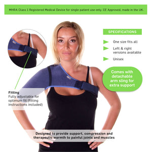 66fit Elite Shoulder Support and Arm Sling