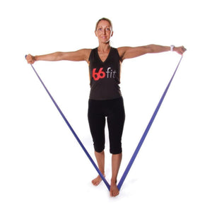 66fit Latex Exercise Resistance Bands