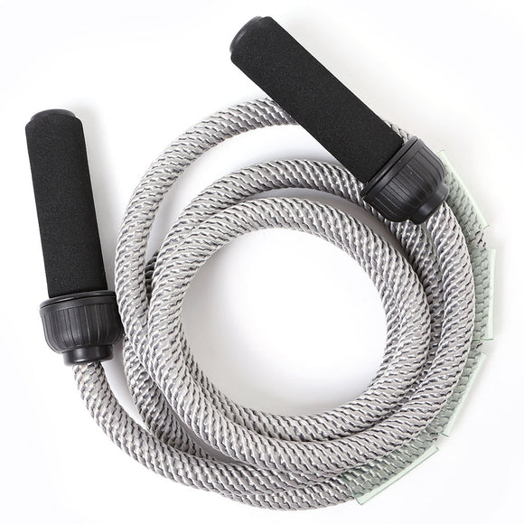 66fit Advanced Heavy Jump Rope - Grey