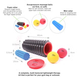 66fit Trigger Point Massage Roller Kit