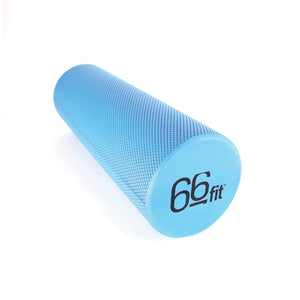 66fit EVA Foam Roller - Blue