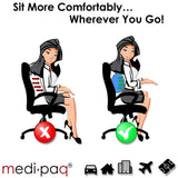 Medipaq Spine Correcting Lumbar Support Cushion