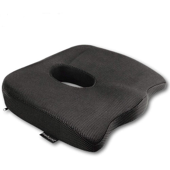 Medipaq®️ Luxury Orthopaedic Coccyx Seat Cushion