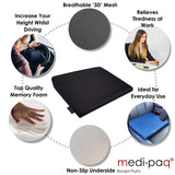 Medipaq Memory Foam Wedge Cushion