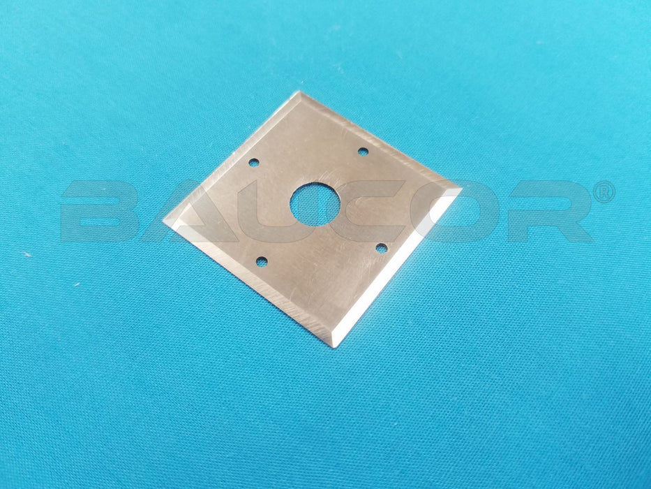 "1.31"" Tetragonal (4-Sided) Razor Blade - Part Number 61418"