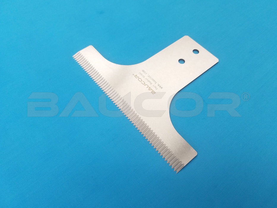 Vertical Form Fill Seal (VFFS) Packaging Blade - Part Number 61433