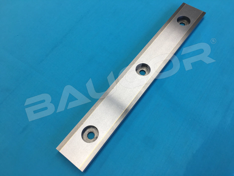 290mm Long Straight Tungsten Carbide Inlay Knife Blade - Part Number 324598-03