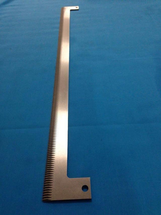 "645mm (25.29"") Long Vertical Form Fill Sealing (VFFS) Machine Knife Blade - Part Number 5054"