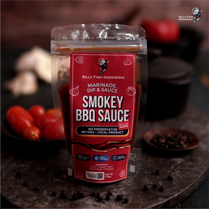 Silly Indonesian Smokey BBQ Sauce 100 gr