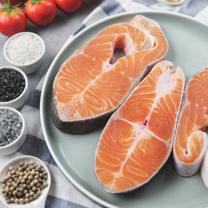 Norwegian Salmon Steak