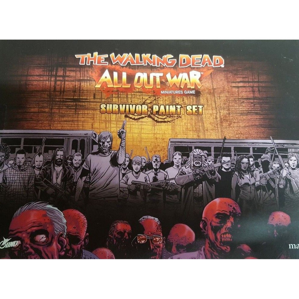 The Walking Dead: Paint Set Survivor New - TISTA MINIS