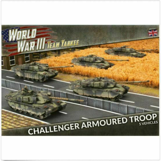 Flames of War Team Yankee Challenger Armoured Troop New