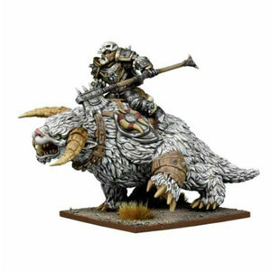 Kings of War - Northern Alliance Thegn on Frost Fang New - TISTA MINIS