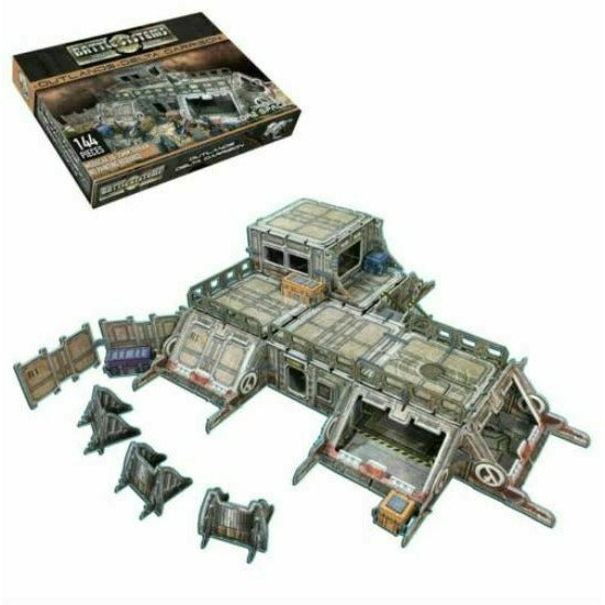 Battle Systems Terrain - Outlands Delta Garrison New