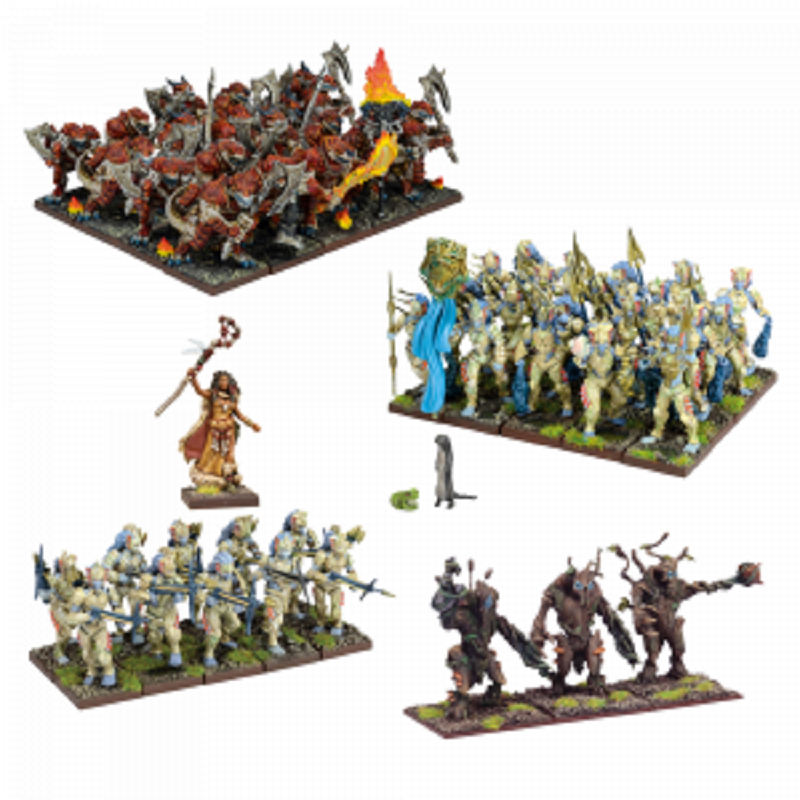 Kings of War Forces of Nature Army New