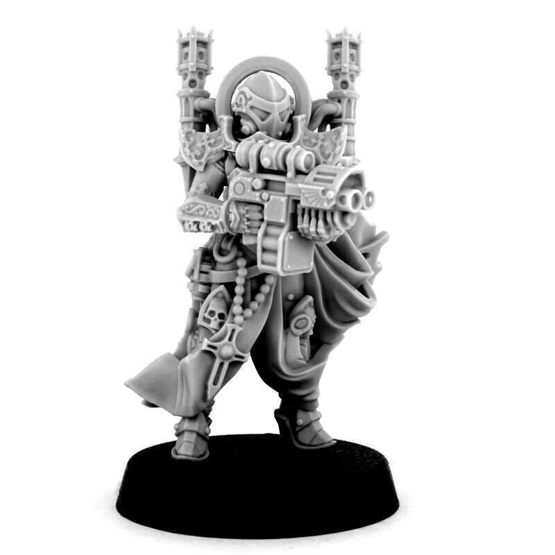 Wargame Exclusive EMPEROR SISTER WITH STORM BOLTGUN New