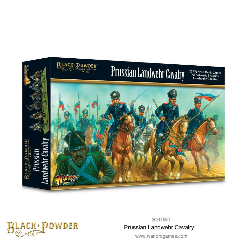 Black Powder Prussian Landwehr Cavalry New