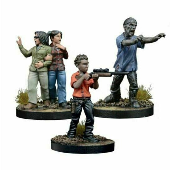 The Walking Dead: W3 Maggie, Prison Defender Booster New - TISTA MINIS