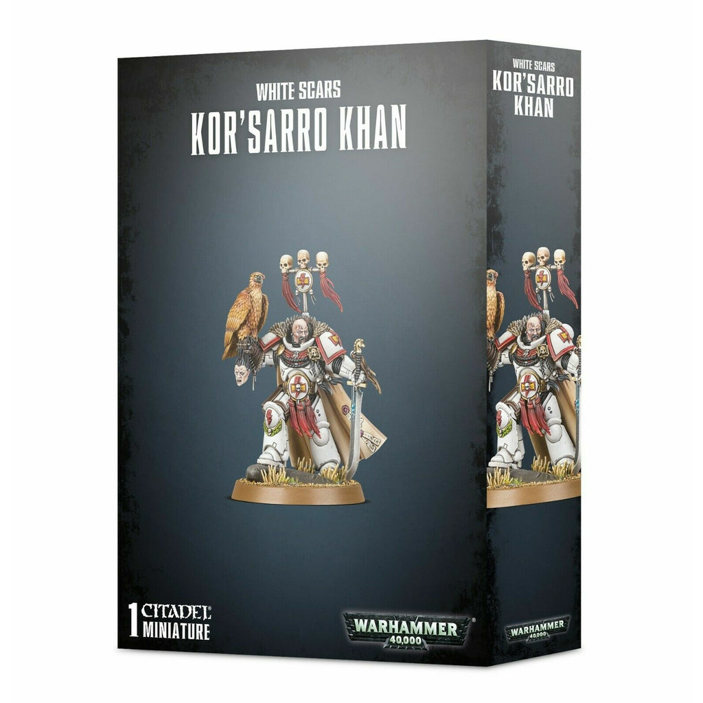 Warhammer Space Marine WHITE SCARS KOR'SARRO KHAN New