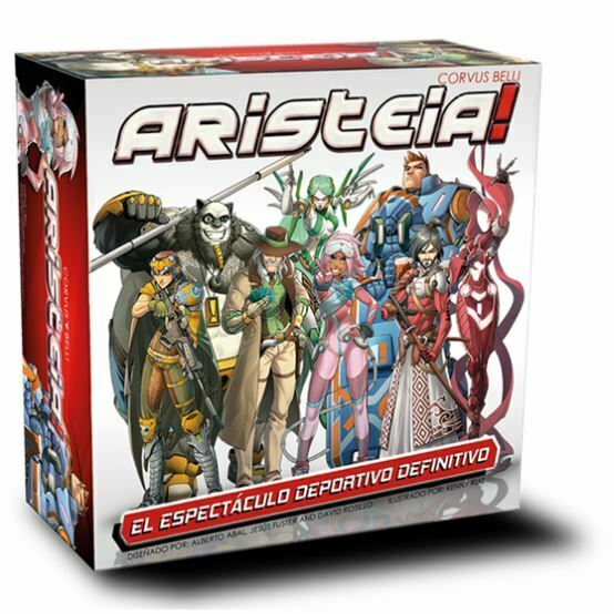 Aristeia! Core Game New - TISTA MINIS