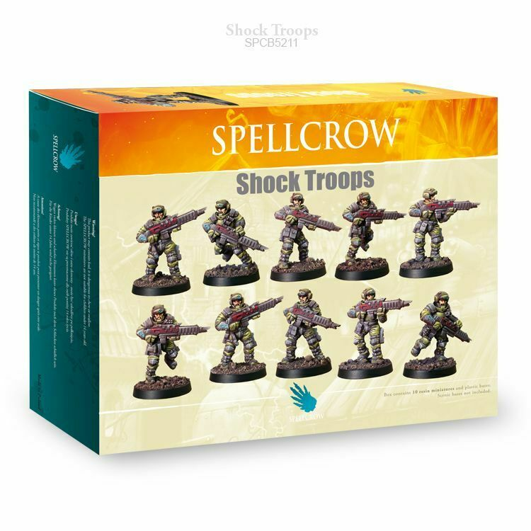 Spellcrow Shock Troops - SPCB5211