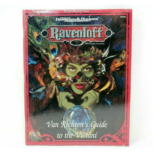Dungeons and Dragons VAN RICHTEN'S GUIDE TO THE VISTANI - RPB4 - TISTA MINIS