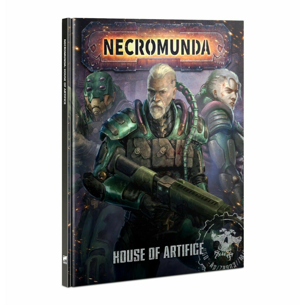 Warhammer NECROMUNDA: HOUSE OF ARTIFICE New - TISTA MINIS