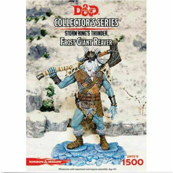Dungeons & Dragons Collector's Series - Frost Giant Reaver New