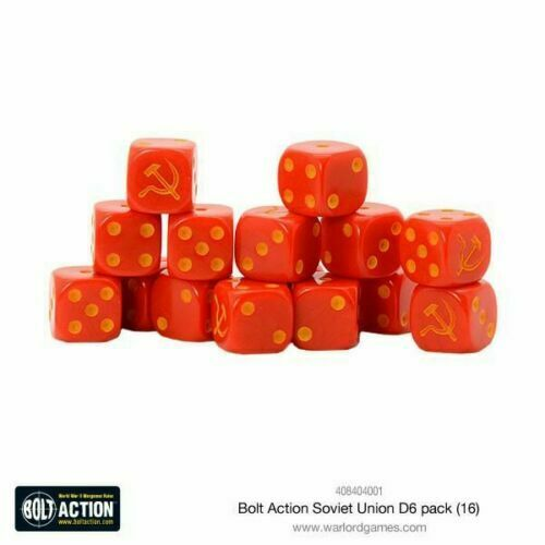 Bolt Action Soviet Union D6 Dice New - 408404001