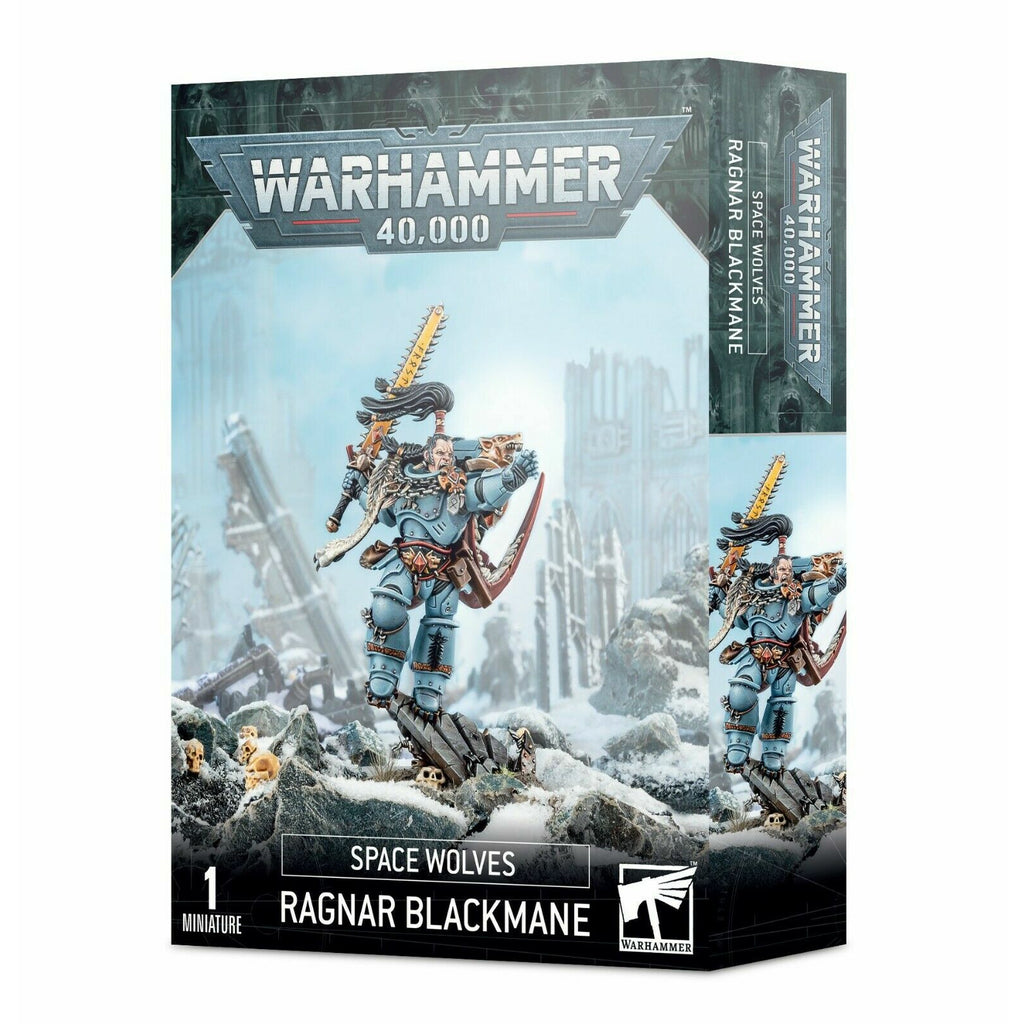 Warhammer SPACE WOLVES: RAGNAR BLACKMANE New