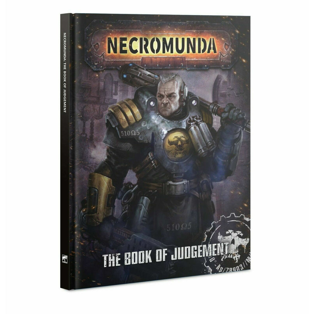 Warhammer NECROMUNDA: THE BOOK OF JUDGEMENT New | TISTAMINIS