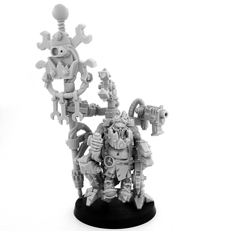 Wargame Exclusive ORK MEKANIK WARBOSS BADMOOD New