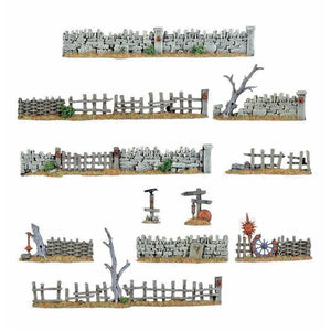 Warhammer Terrain and Scenery Walls and Fences | TISTAMINIS