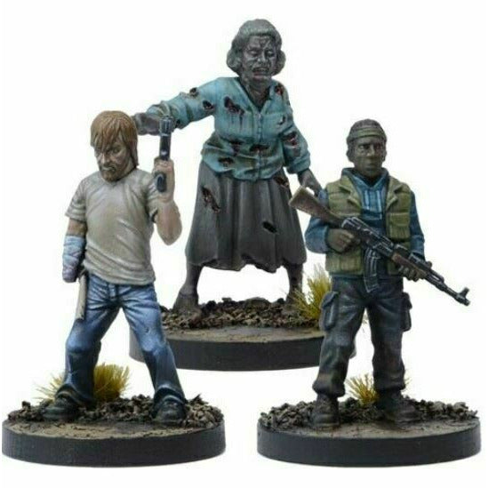 The Walking Dead: W4 Rick, Disfigured but Determined Booster New - TISTA MINIS