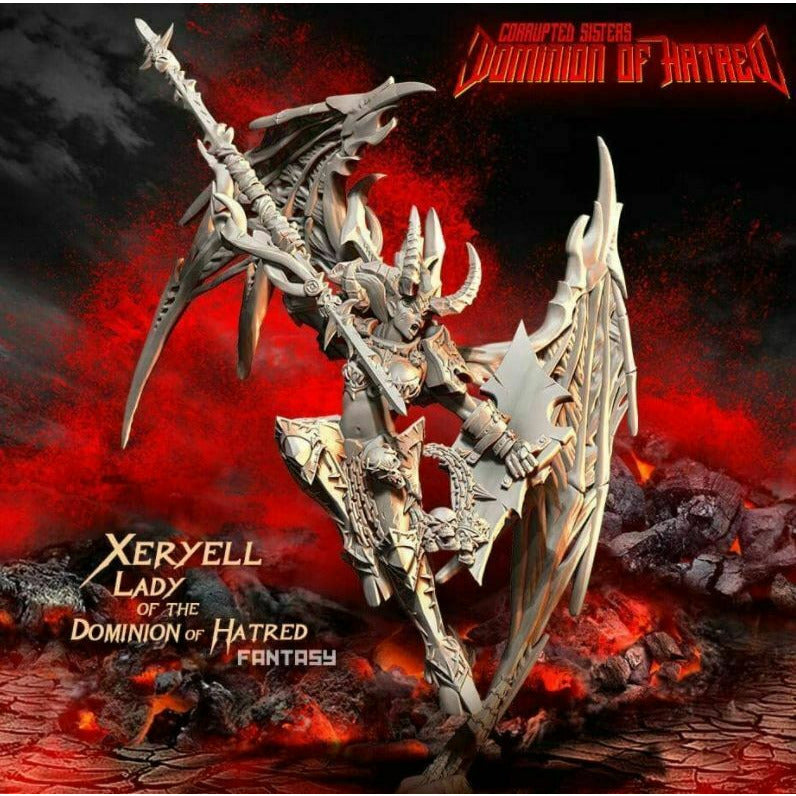 Raging Heroes - Xeryell, LADY of the Dominion of Hatred New